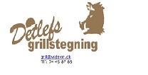 Detlefs Grill stegning
